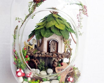 Diy Fairy House Ideas Etsy
