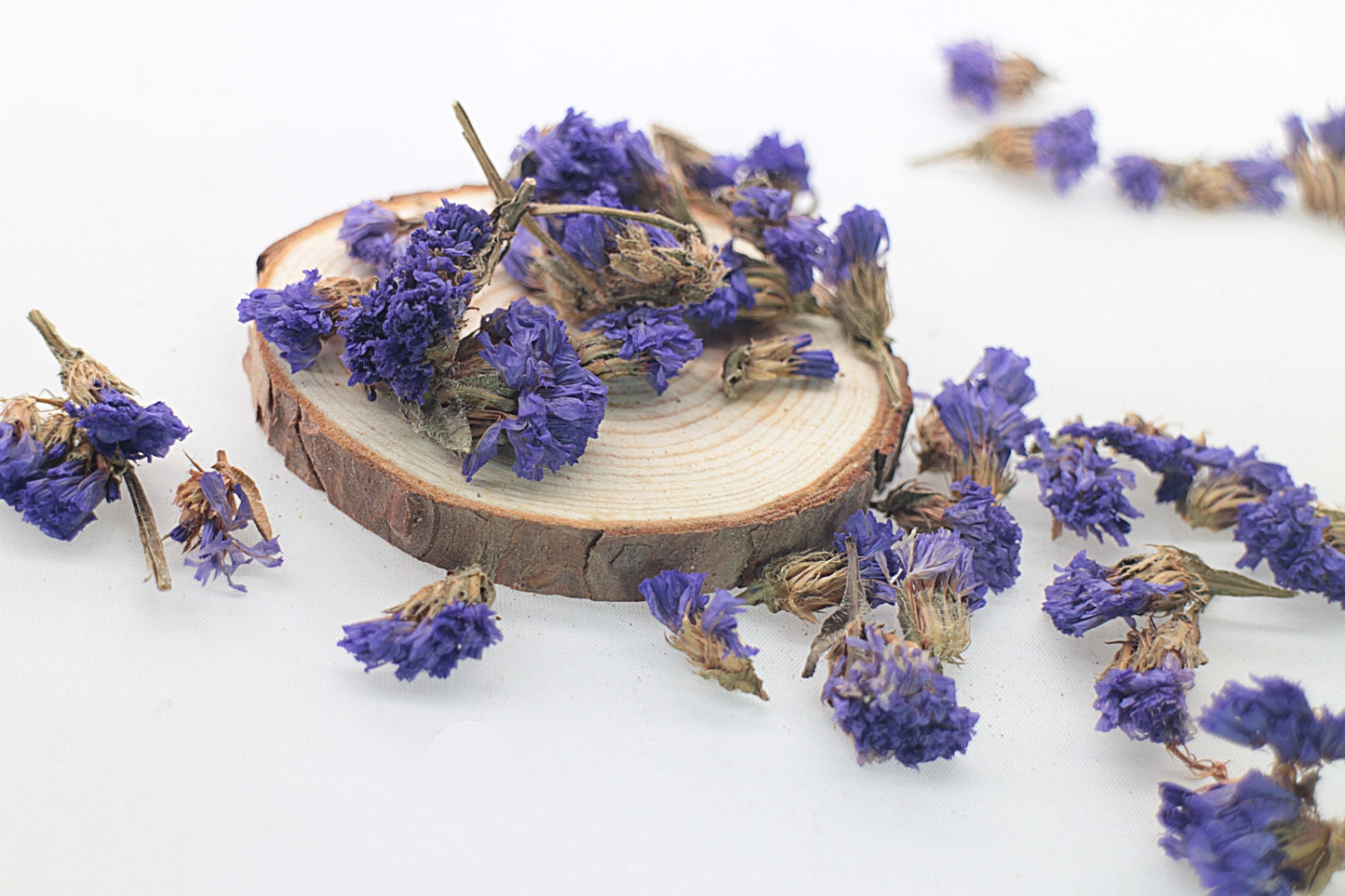 Dried Statice Flower Seed 30g Dried Flower Filler Purple Etsy