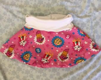 Shopkins Skater Skirt Size 1