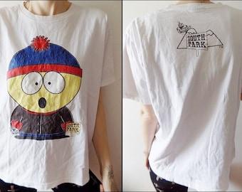 Vintage South Park T-shirt/Vintage Cartoon South Park T-shirt/Comedy Central T-shirt/Comedy T-shirt/Eric Cartman /Stan Marsh/Kyle T-shirt