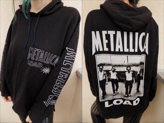 Vintage 90's Rare Metallica Load Hoodie