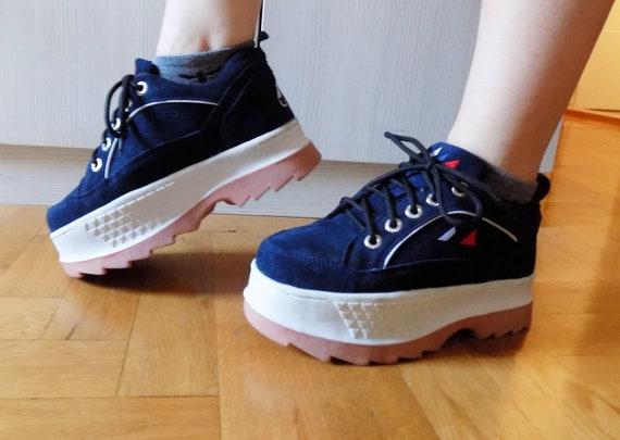 Vintage Retro Rave Fashion Sneakers Techno Chunky 90's Sneakers Platform Sneakers Platform Rave Sneakers Platform Vintage 90's Wind Club qZ4wSnH