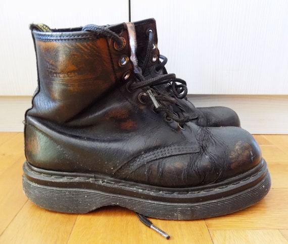 Vintage Rare Dr.Martens Punk Platform Boots