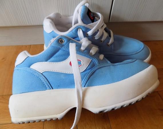 Blue Platform Sneakers EU 40