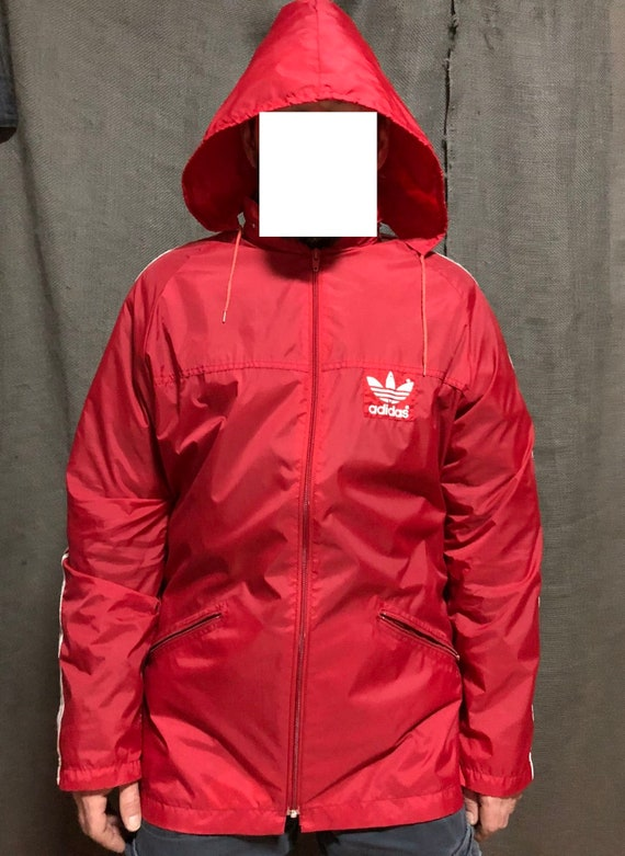 Rote adidas jacke | Etsy
