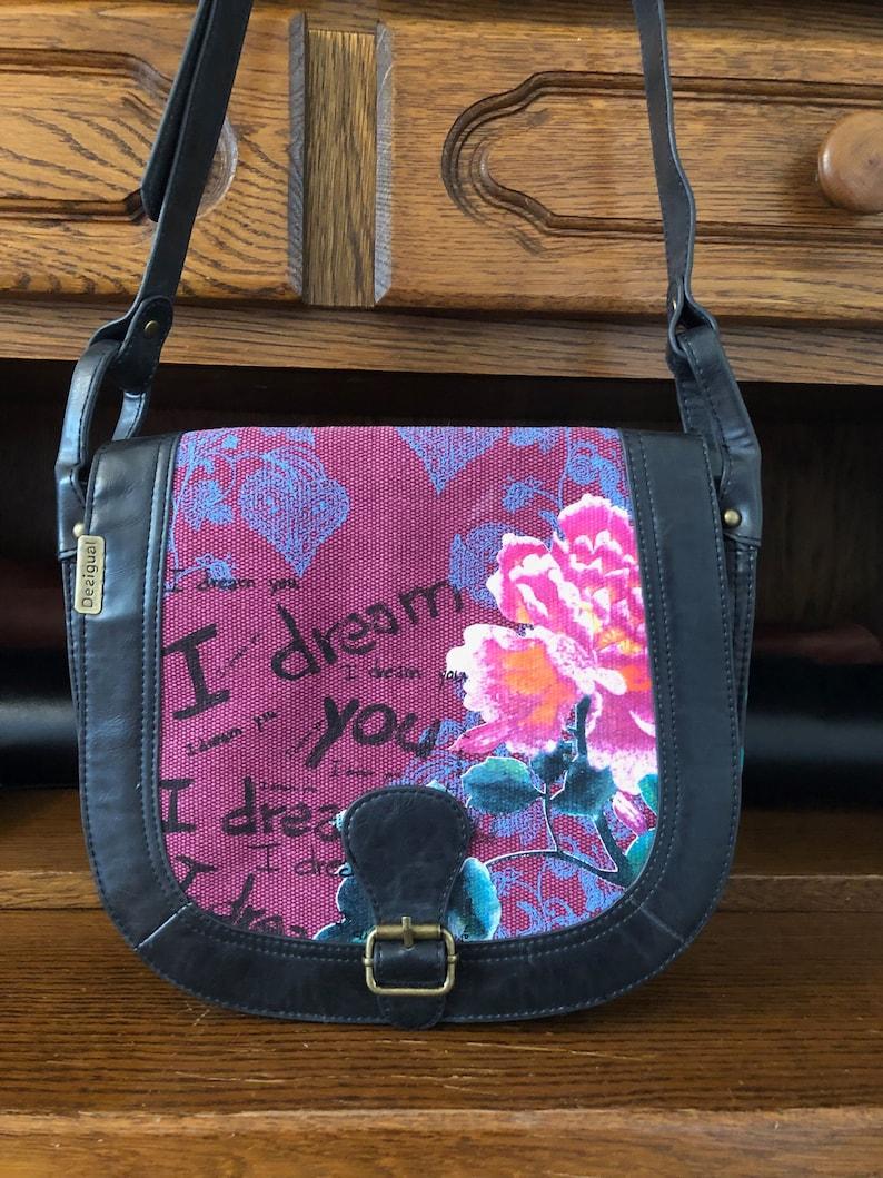 lowest price 100% authentic best place Jahrgang Desigual Tasche, Desigual Cross Body Bag, Desigual Tasche, Boho  Tasche, Blumen Print Tasche, Boho Floral Tasche