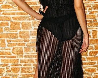 Black Lace Cover Dress, Lace Cover, Lace Dress