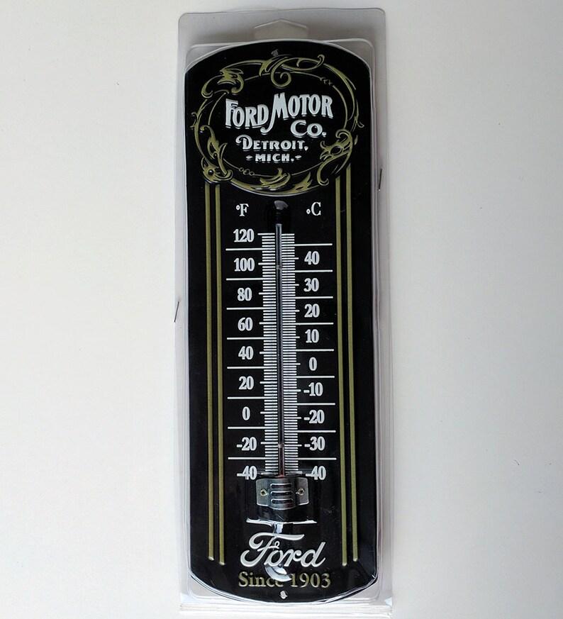 Mancave Decor Metal Thermometer … Chevrolet Super Service Garage