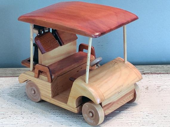 Wooden Golf Cart Handmade Wood Desk Model Made in USA Golf | Etsy on brick cart, roofing cart, moving cart, drywall cart, material cart, firewood cart, portable air compressor cart, door cart, construction cart, paper cart, shopping cart, sand cart, build a rolling shop cart, panel cart, 2 wheel cart, stone cart, aluminum cart, cardboard cart, wood cart, concrete cart,
