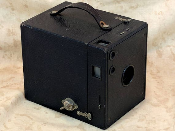 Antique 1916 No 3 Kodak Brownie Vintage Art Deco Box Camera Etsy