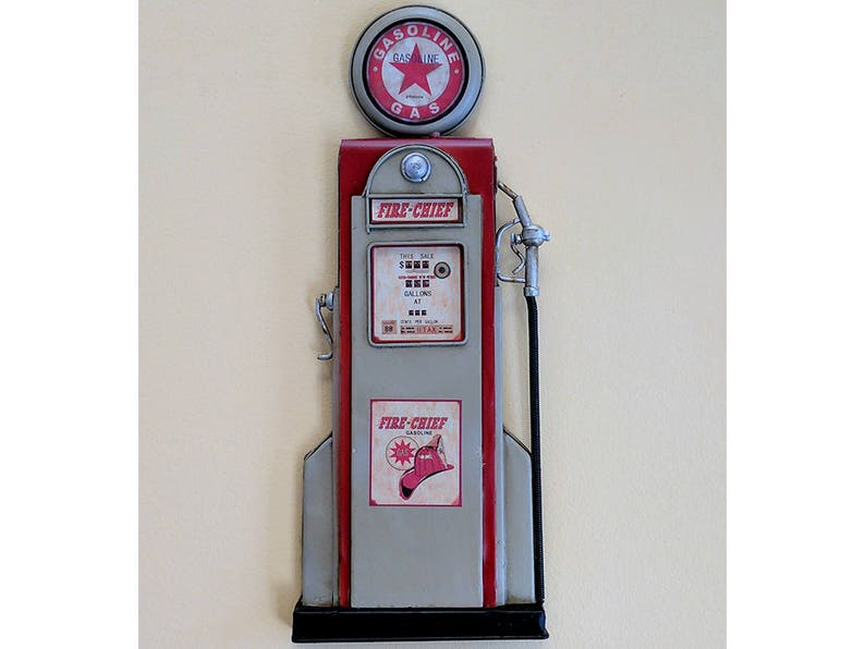Texaco Fire Chief Gas Filling Station Gasoline Metal Tin Sign MADE in the USA