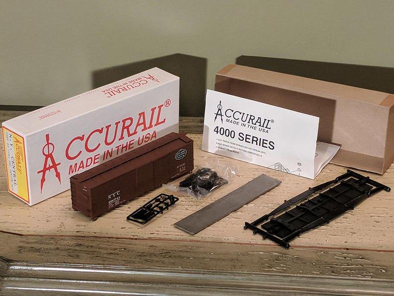 Accurail HO Model Railroad RXR Rail Road Box Car N Y  Central Original  Double Sheath Box New Old Stock Lionel MTH K-Line Made in U S A