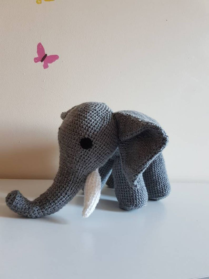 Free Crochet Pattern for Edgar the Elephant — Megmade with Love | 1059x794