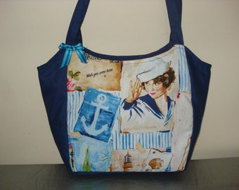 Seaworthy pin-Up girls handbag