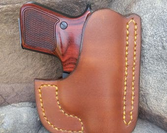 brown pocket holster Beretta Jetfire
