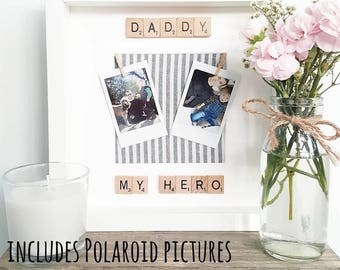 Day Gift/ Gift For Dad/ Husband Gift/ Dad Frame/ New Dad Frame/ Daddy Birthday Gift/New Dad Gift/ Daddy Frame/Daddy Gift from Children