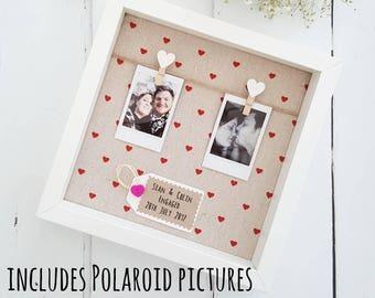 boyfriend christmas gift girlfriend christmas gift wedding gift engagement giftboyfriend frame anniversary gift engagement frame