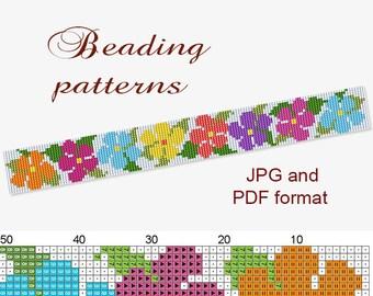 picture regarding Free Printable Bead Loom Patterns titled Loom bead styles Etsy