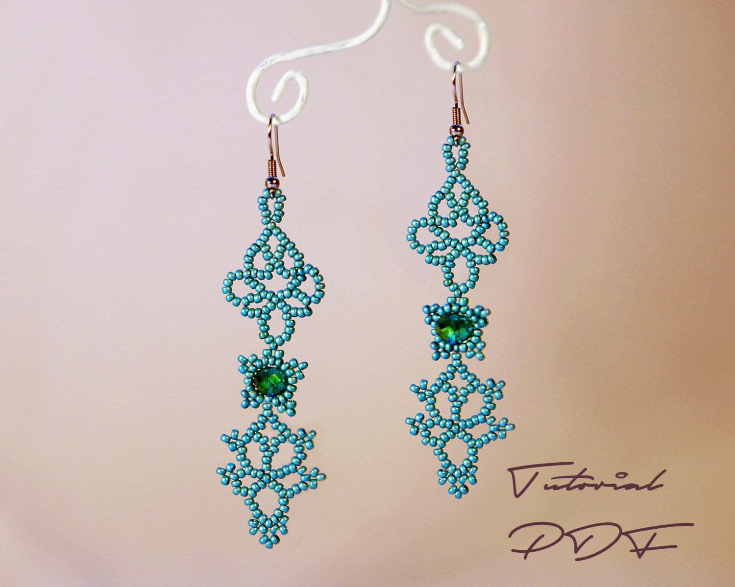 Beaded Earring Patterns For Beginners Awesome Design Inspiration