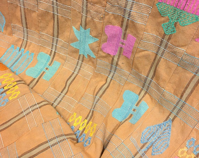 Mud Cloth, African fabric, vintage tribal textile, Mudcloth fabric, Bohemian, mudcloth throw