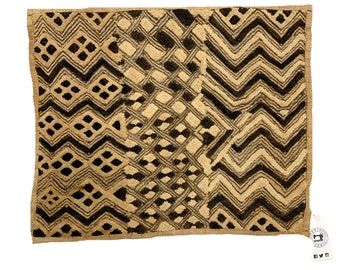 Kuba Cloth ,Tapestry Wall Decor | Rug Wall Hanging | African Tribal Tapestry, 2F