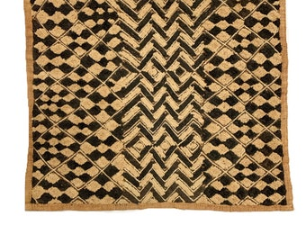 Kuba Cloth ,Tapestry Wall Decor | Rug Wall Hanging | African Tribal Tapestry, 2G
