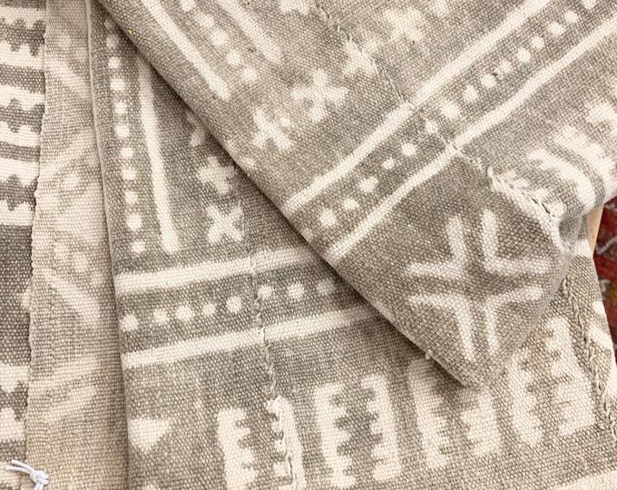 Mud cloth, Antique Bogolan, Neutral Mudcloth, mud cloth fabric