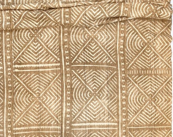 Mud Cloth, Mudcloth fabric, African Bogolan, Neutral Decor mud cloth throw, Morrissey Fabric