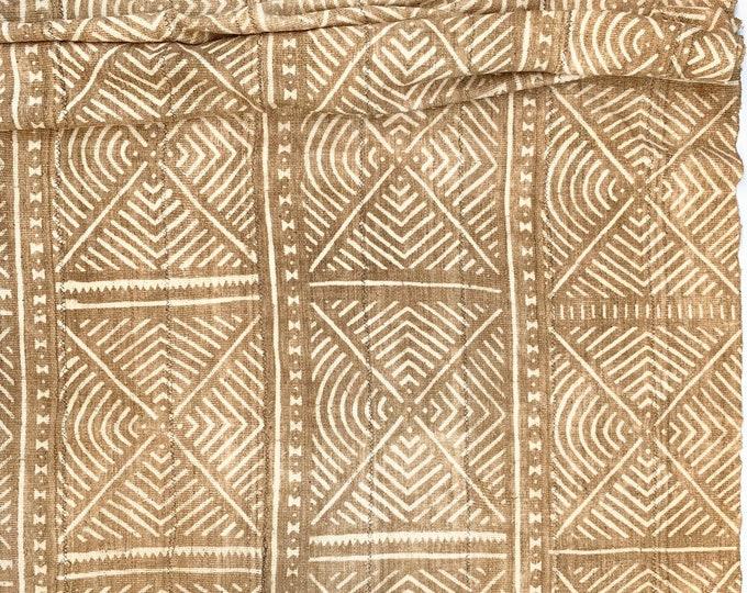 Mud Cloth, Mudcloth fabric, African Bogolan, Neutral Decor mud cloth throw, Morrissey Fabric