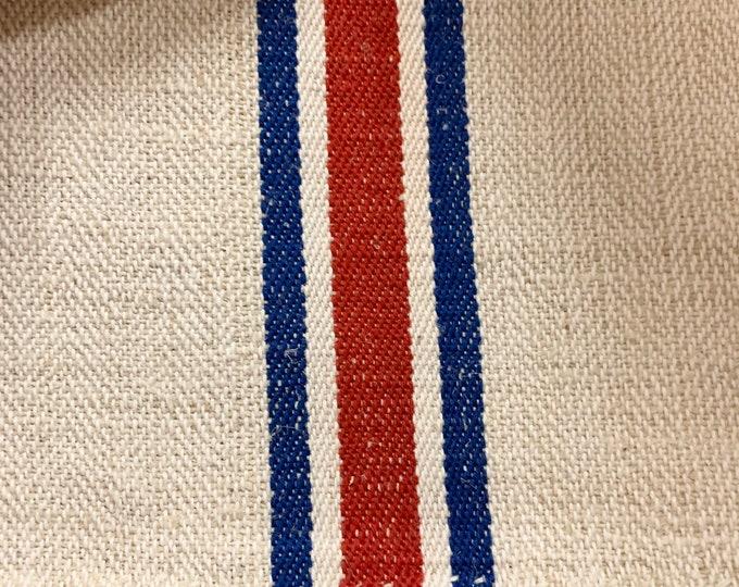 Grain Sack, Vintage Grain sack, Grainsack Fabric, Linen and Hemp Fabric
