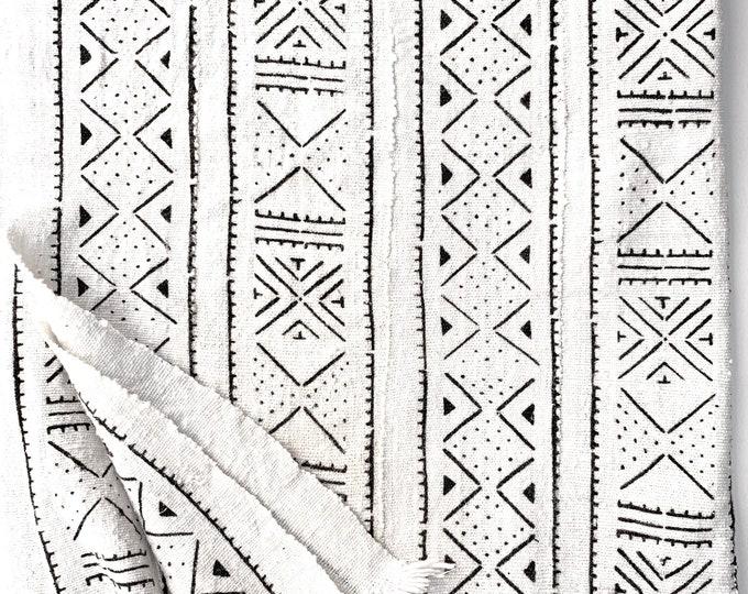 Mud Cloth fabric, Tribal Print Mudcloth throw, African textile, Morrissey Fabric