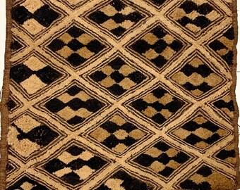 Kuba Cloth , Kuba Shoowa, Tapestry Wall Decor | Rug Wall Hanging | African Tribal Tapestry,