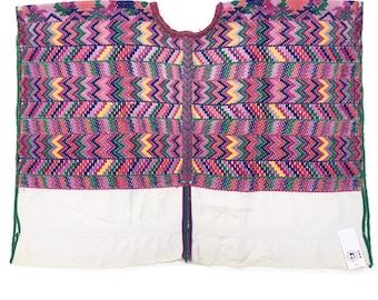 Vintage Guatemalan Fabric, Guatemalan Huipil, Woven Wall decor, Morrissey Fabric, Boho Poncho
