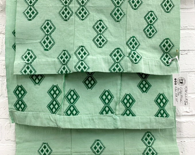 Vintage African Aso Oke textile, Africana textile wall art, African table runner, Morrissey Fabric
