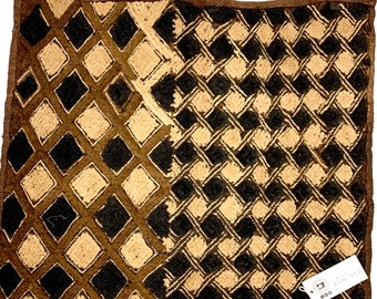 Kuba Cloth, Tapestry Wall Hanging | Rug Wall Hanging | African Tribal Tapestry, N