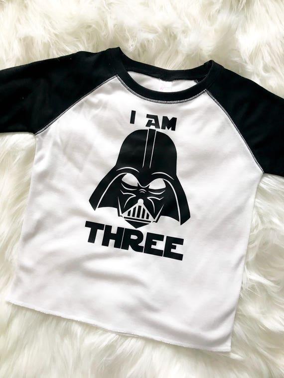 Star Wars Verjaardag Shirt Darth Vader Verjaardag Shirt Etsy