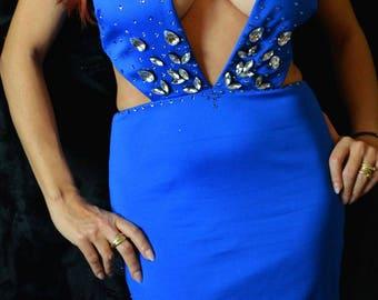 Evening/Prom women dress/Party dress /Prom dress BEBE & LauraG-crystals com