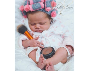 8be271b4343 Crochet Baby Curler Hat