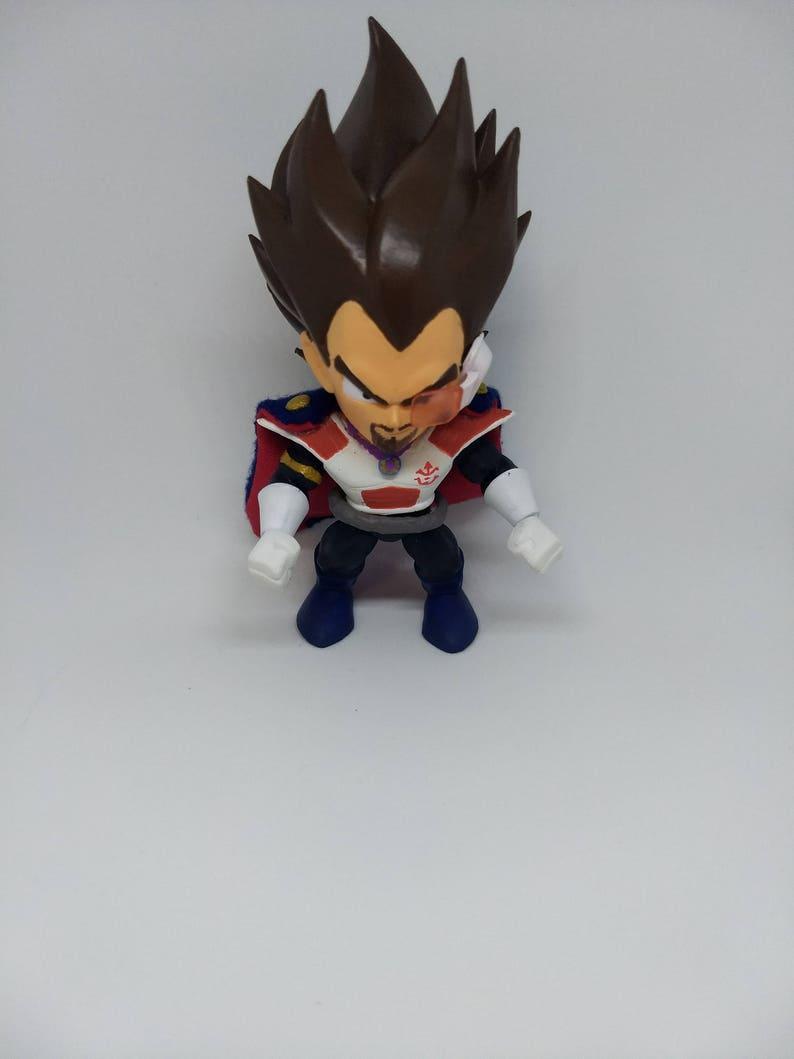 Dragonball Z King Vegeta Custom The Loyal Subjects Vinyl Figure DBZ