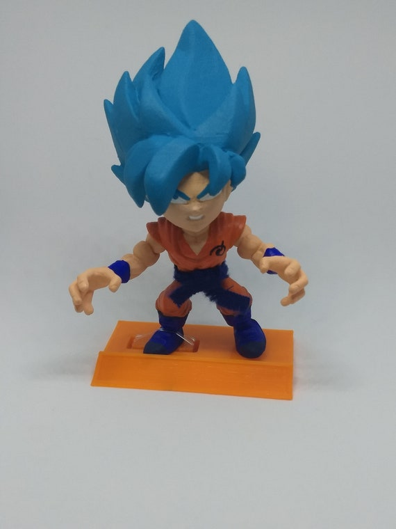 Dragonball Z Super Saiyan Blue Vegeta Custom The Loyal Subjects Vinyl Figure DBZ Super