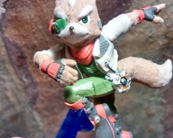 Custom Star Fox Fuzzy Amiibo