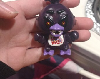 Custom Shadow/Nightmare Five Nights at Freddy's Chica Mini Mystery Figure Funko