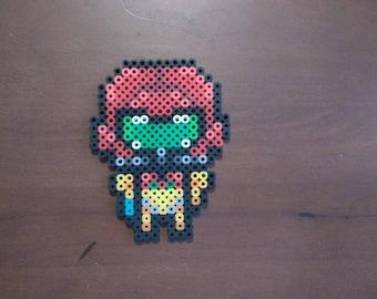 Metroid - Samus 4.5x3.5 Perler Bead Art Pixel Art