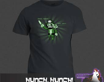 Archer - Hunch, Hunch!  (Unisex/Ringspun/Ladies) Tshirt