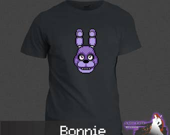 Five Nights at Freddy's - Bonnie (Unisex/Ringspun/Ladies) Tshirt FNAF