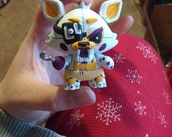 Custom Five Nights at Freddy's Lolbit from Sister Location Mini Mystery Figure Funko