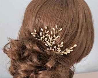 Pearl hair pins, bridal hair pins, bridal hair accessories, bridesmaid hair pins, pearl hair cone, wedding headpiece, bridal headpiece