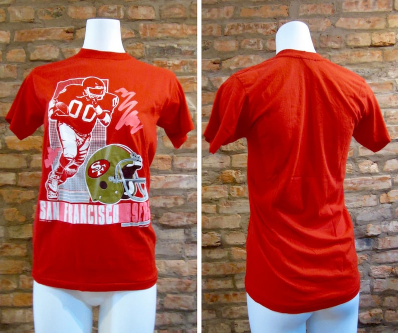 01f10bd89 San Francisco 49ers Vintage Shirt Football TShirt Medium 90s