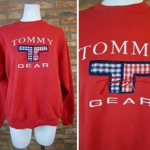 Tommy Hilfiger Shorts Women Size 13 Jeans Vintage Denim Shorts 90s Clothing Hip Hop Fashion Beach Festival Bottoms Loose Fit Pants
