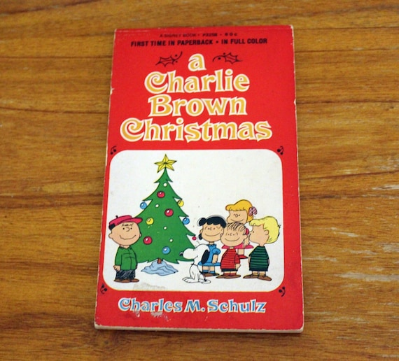 A Charlie Brown Christmas Book.A Charlie Brown Christmas Book Paperback Peanuts Gang Comic Book 1965 Vintage Snoopy Christmas Stocking Stuffer Golden Age Comics